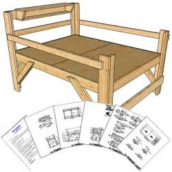 queen size loft bed plans short height op loftbed
