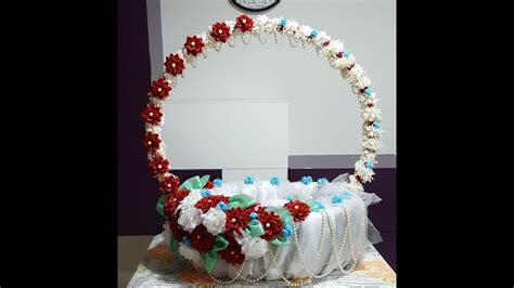 flower making ganpati decoration part  youtube
