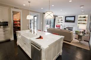 Mirabelle Faucets by Sink And Dishawasher In Kitchen Island Contemporary