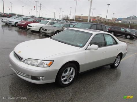 lexus es 2000 white pearl 2000 lexus es 300 sedan exterior photo