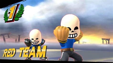 Super Smash Bros Undertale Sans!