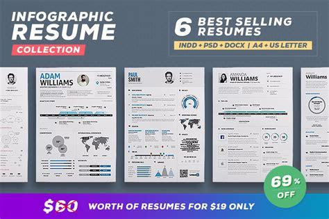 graphicriver infographic resume cv template