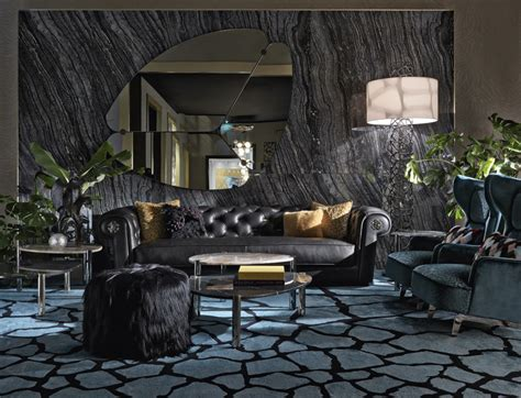 Roberto Cavalli Home by The New Roberto Cavalli Home Interiors Collection Italy
