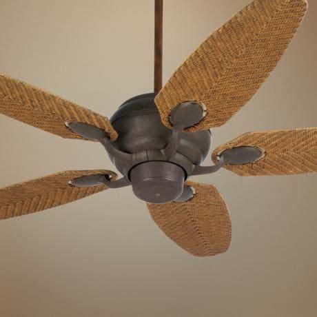 48 inch ceiling fan with light 52 quot casa optima honey rattan blades ceiling fan