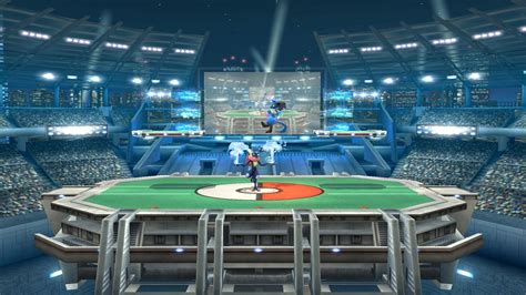 Stationary Pokemon Stadium Super Smash Bros For Wii U Maps
