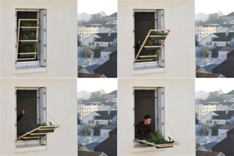 Volet Vegetal Window Garden For Apartments