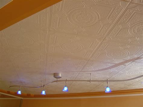 ceiling tiles help turn your basement into a great living area