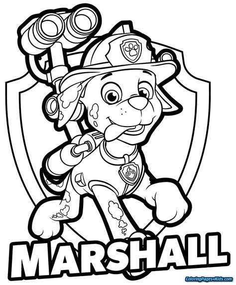 Paw Patrol Coloring Pages Printable Free Coloring Sheets