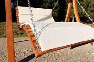 Liege Aus Holz : design hollywoodliege doppelliege aruba aus holz l rche mit dach alles f r garten und terrasse ~ Sanjose-hotels-ca.com Haus und Dekorationen