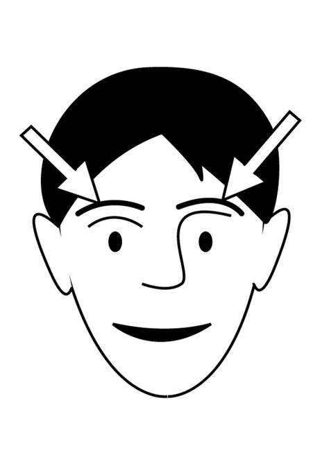 Coloring Eyebrows by Coloring Page Eyebrows Img 26935 Images