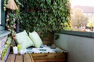 Sichtschutz Zum Bepflanzen : balkon sichtschutz mit pflanzen natur pur auf dem balkon ~ Sanjose-hotels-ca.com Haus und Dekorationen