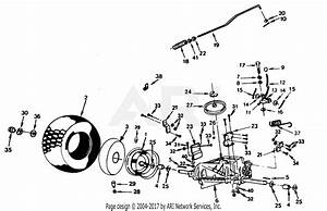 Poulan Xel1122ar Tractor Parts Diagram For Transaxle And