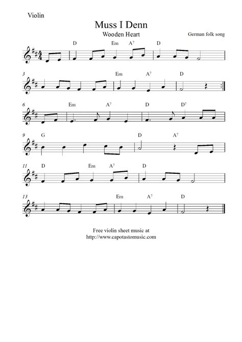 Christmas violin songs and holiday favorites. The Best Printable Violin Sheet Music | Barrett Website
