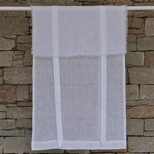 Store En Lin : store en lin saint r my blanc maison d 39 t ~ Edinachiropracticcenter.com Idées de Décoration