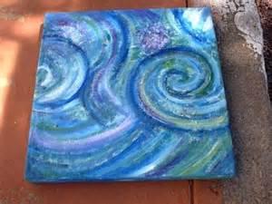 Abstract Art Paintings Ocean Waves