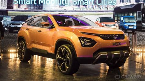 Tata H5x Suv Christened As 'harrier' Carwale