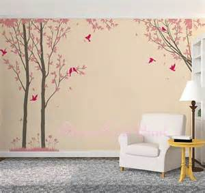 trees decals wall decals nature wall decals vinyl wall