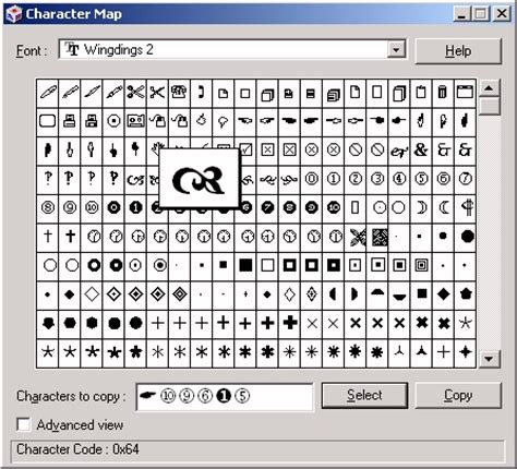 Wingdings 2 Key Images  Reverse Search