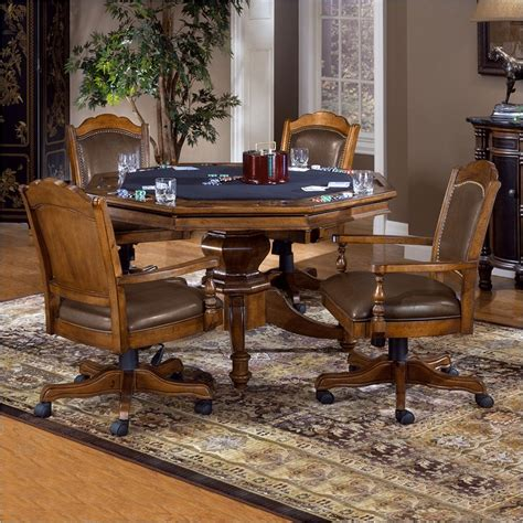 poker table and chips set nassau poker table and chairs game set hillsdale 6060gtbc