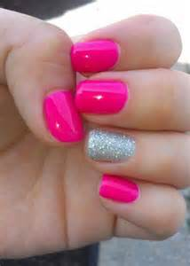 Cute pink summer nail art designs ideas trends stickers