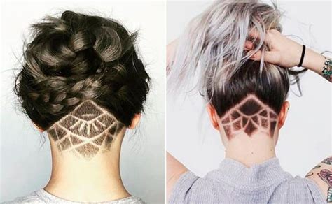undercut frauen hinterkopf best 25 undercut ideas on undercut hair undercut designs and hair undercut