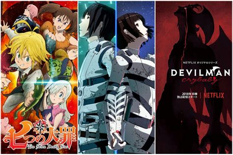 siete anime recomendados  se encuentran en netflix