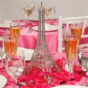 eiffel tower table centerpieces de 40 ideas para decorar fiestas de 15 años de
