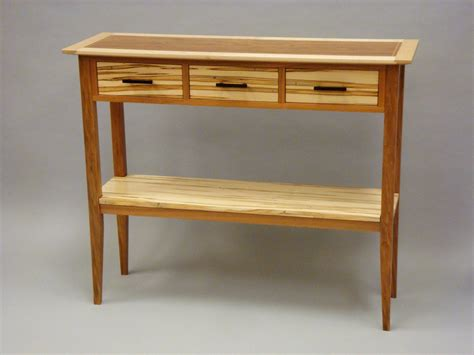 Entry Table With Drawers by Made Entry Table With Shelf And Three Drawers By
