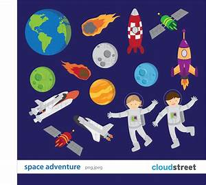 Outer Space Planets Clipart - Clipart Bay