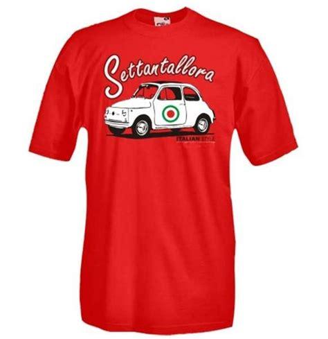 Fiat Merchandise by Fiat 500 Vintage T Shirt