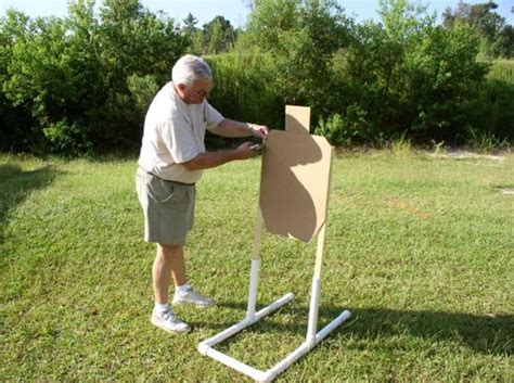 educational zone  homemade target stand  box  truth