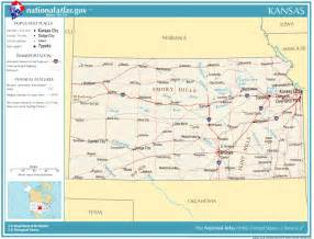 Kansas State Map with Highways