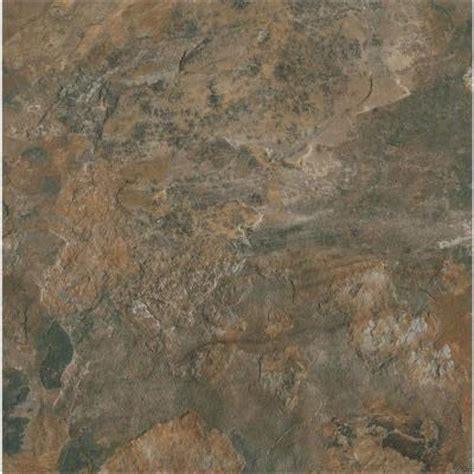 Armstrong Vct Tile Home Depot by Armstrong Ceraroma 16 In X 16 In Shadow Groutable