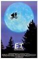 Classic Steven Speilberg Movie Poster Et Riding Bike ...