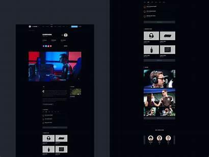 Tsm Player Dark Website Concept Team Dribbble
