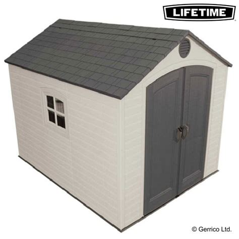 lifetime 10x8 shed assembly lifetime 8x10 plastic shed 60056 special edition