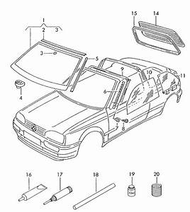 Volkswagen Cabrio Convertible Top Parts