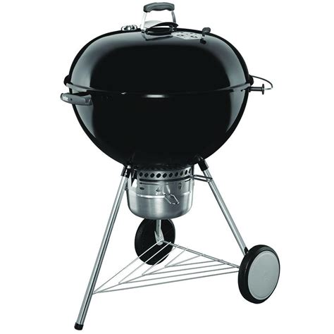 weber grill gewürze weber original kettle premium 26 in charcoal grill in black 16401001 the home depot