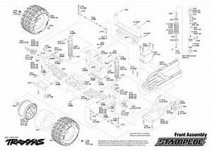 Traxxas Stampede Parts List