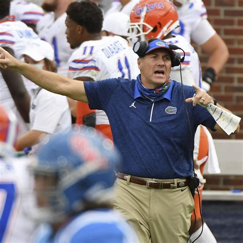 Florida's Dan Mullen Apologizes for Calling to 'Pack the ...