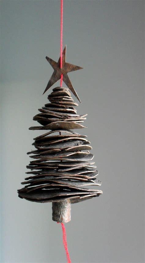 Weihnachtlicher Kerzenhalter Tannenbaeumchen by Anleitung Selbst Gebastelter Christbaumschmuck Aus