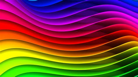 Download Wallpaper 1920x1080 spectrum, rainbow, background ...