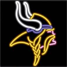 Minnesota Vikings Neon Sign SP 47