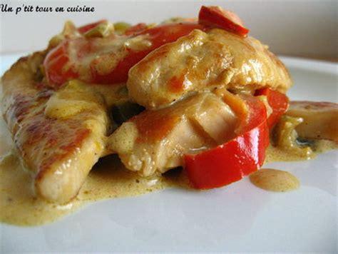 cuisiner des escalopes de poulet recette escalopes de dinde aux poivrons et à la crème 750g