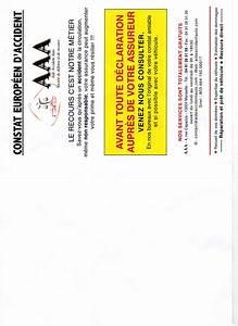 Imprimer Constat Amiable : aide accident auto ~ Gottalentnigeria.com Avis de Voitures