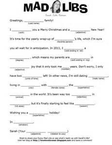 Mad Christmas Libsprintables