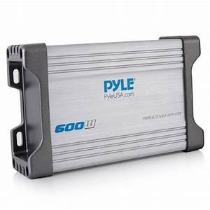 Pyle - Plmrmp4a - Marine And Waterproof