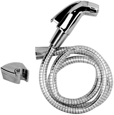 bidet hose uk toilet hand spray with hose and hook pex uk shattaf