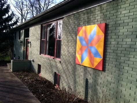 Barn Quilts Patterns Painting by How To Paint A Barn Quilt 10 Steps With Pictures Wikihow