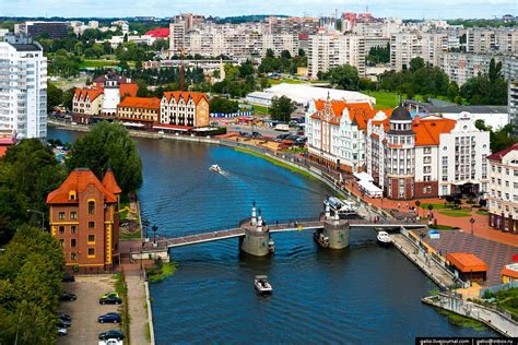 european style house kaliningrad the view from above russia travel
